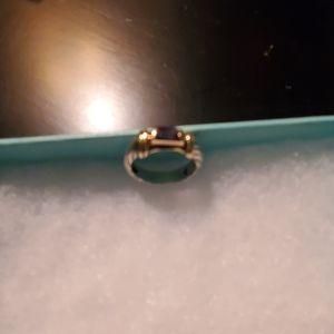 Small David Yurman amethyst ring.